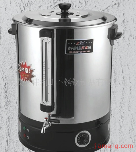 不锈钢新型防干烧电热开水桶(带水位尺)