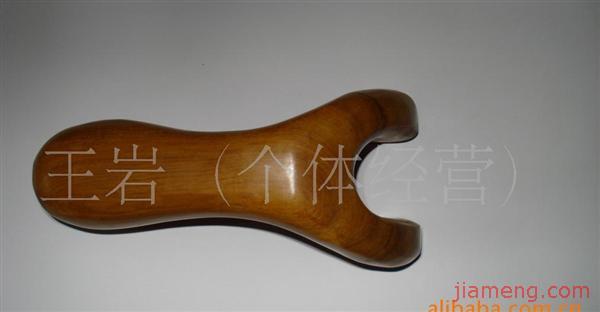 香木按摩器.用白香木手工制作