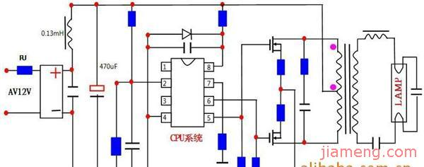 连锁电路图及工作原理