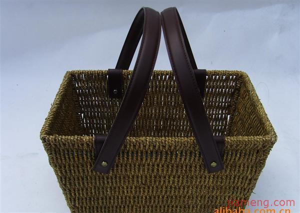 一手工钩针编织包包图片手工铁丝工艺品